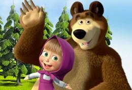 Masa a medved - rozpravka