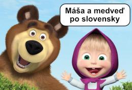 Masa a medved v slovenskom dabingu