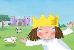 Mala princezna - rozpravka
