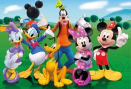 Mickeyho klubik - rozpravka