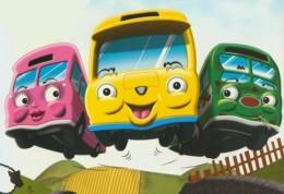 Autobusy v jednom kole - rozprávka