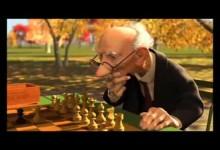 Geri's game - sachista (Pixar)