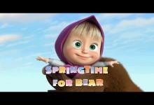 Masa a medved: Prisla jar (anglicky)