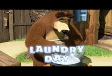 Masa a medved: Velke pranie (anglicky)