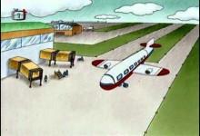 Teo: Let lietadlom