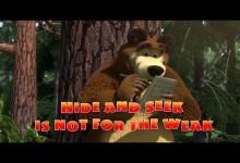 Masa a medved: Schovavacka (anglicky)