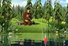 Masa a medved: Rybacka