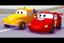 Odtahove auto Tom: Pretekarske auto