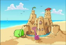 Mucha: Hrad z piesku