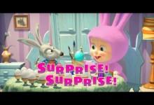 Masa a medved: Velkonocne prekvapenie! (anglicky)
