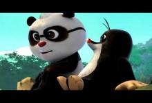 Krtko a Panda: Party ciernobielych zvieratiek