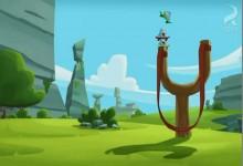 Angry Birds: Lekcia praku