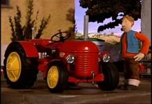 Cerveny traktor: Vianocne svetielka